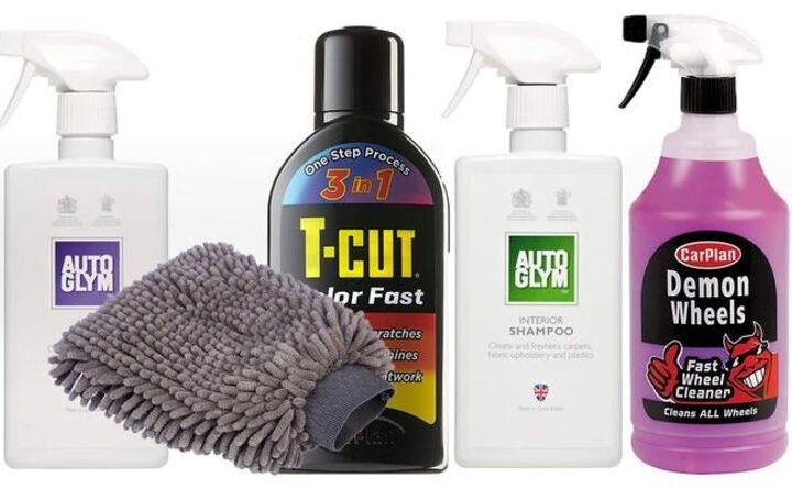 Amazon's best selling car cleaning essentials for DIY detailing