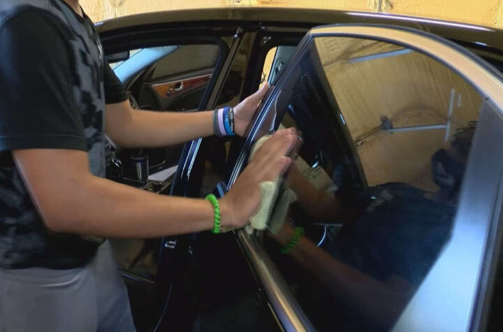 Auto detailing class helping students work after high school