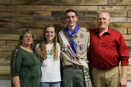 Eagle Scout recognized with national award for saving woman trapped in burning car