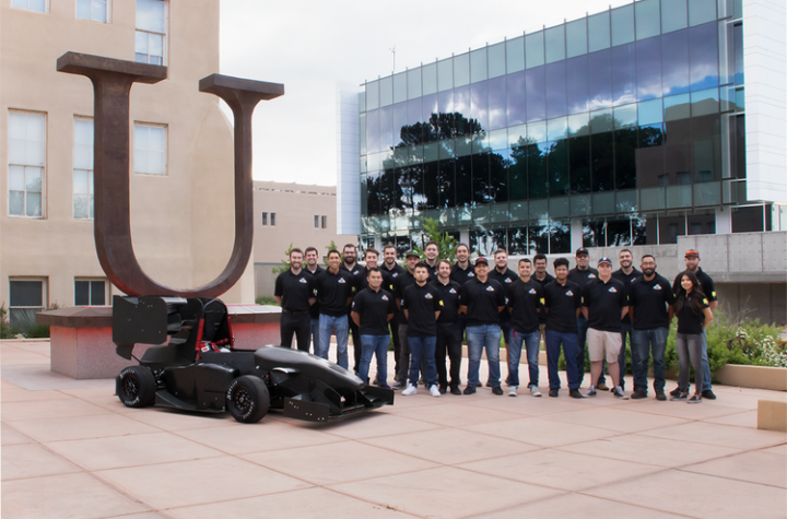 UNM's LOBOmotorsports places in top 10 in FSAE Knowledge Event finals: UNM Newsroom