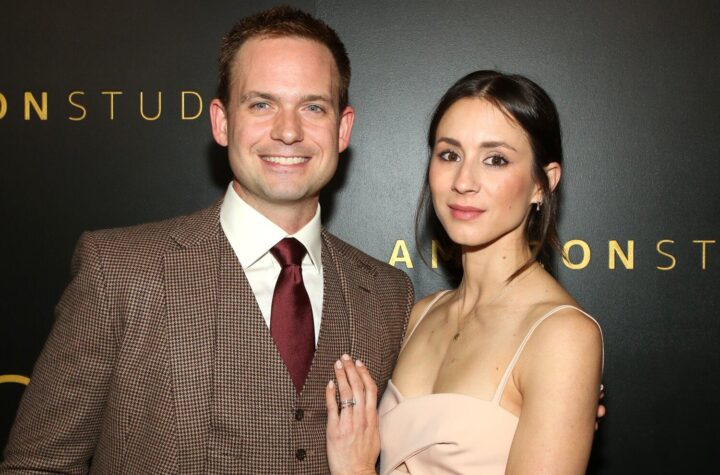 Troian Bellisario and Husband Patrick J. Adams Detail the Crazy Car Birth of Their Second Child