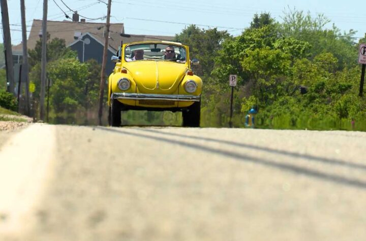 Maine auto shop converts classic Beetle into fully electric vehicle