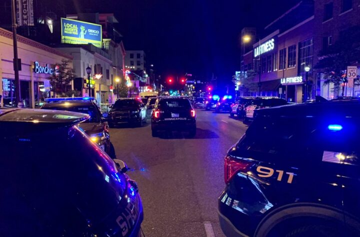 Woman killed, 3 hurt after car hits protest crowd in Uptown